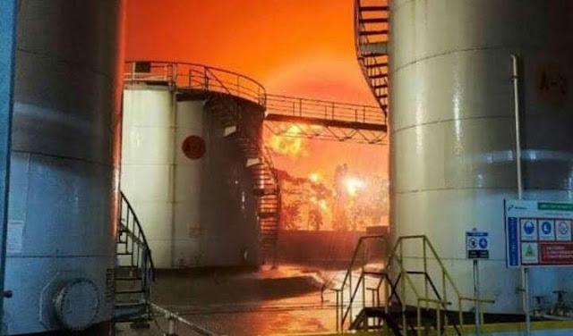 Api di Tangki T39 Pertamina Cilacap Telah Padam, Kebakaran Telah Dikendalikan