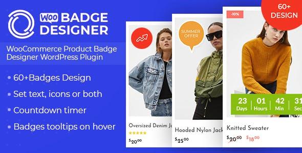 Download Woo Badge Designer v1.0.5 - WooCommerce Product Badge Designer WordPress Plugin