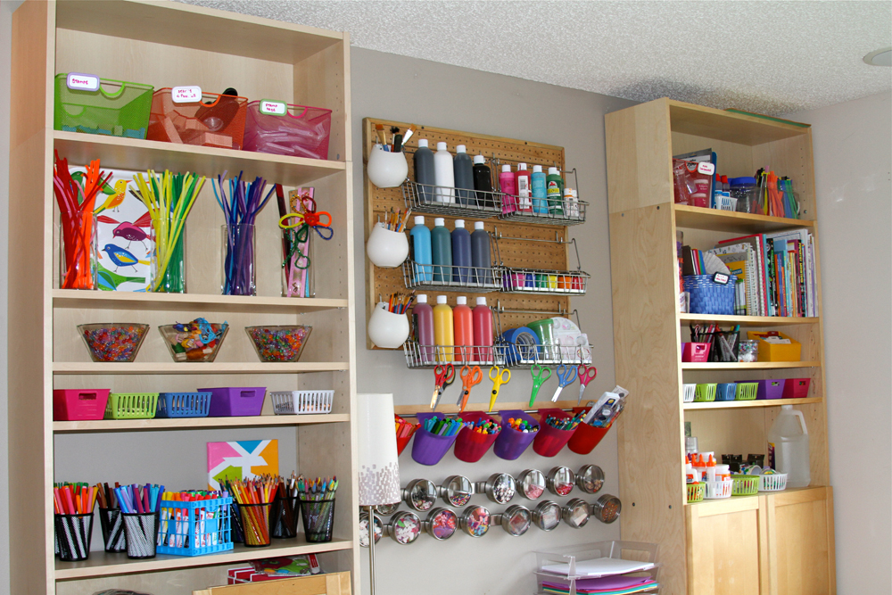 Kids Craft Room Ideas: Holly's Arts And Crafts Corner: Our New Art Room