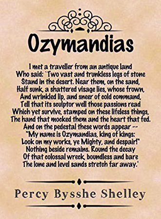 Essay Professional Ozymandias Is A Poem Written By Percy Bysshe Shelley Essay Essays For Percy  Shelley Poems Odysseus Hero Essay also Why The Drinking Age Should Be Lowered To 18 Essay Ozymandias Is A Poem Written By Percy Bysshe Shelley Essay  Essay  Good Compare And Contrast Essay Topics