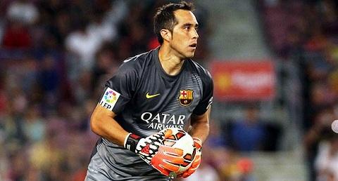 Claudio Bravo dày dạn kinh nghiệm ở La Liga trong màu áo Sociedad.