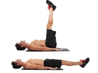 Abdomilaes, levantamiento de piernas