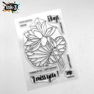 Lotus Stamp Set
