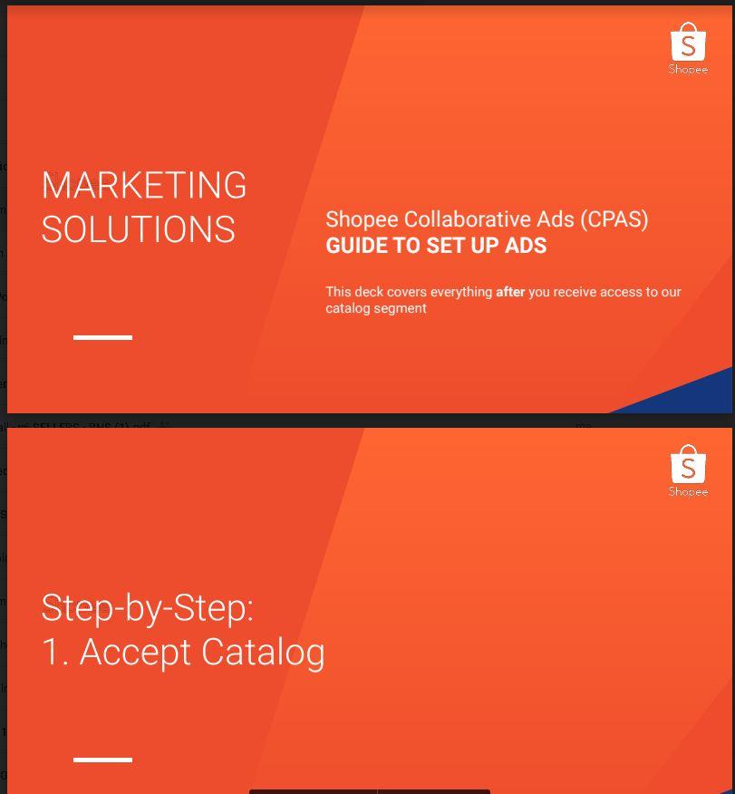 Panduan memasang Collaborative Ads Facebook Shopee