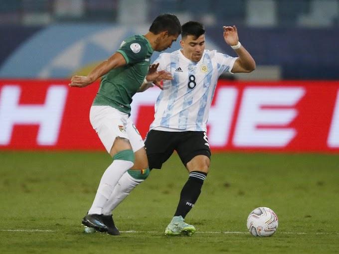 Argentina golea a Bolivia y cuartos de final para el sábado en la Copa Amérca