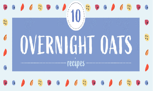 Overnight Oat Recipes Great for Breakfast #infographic