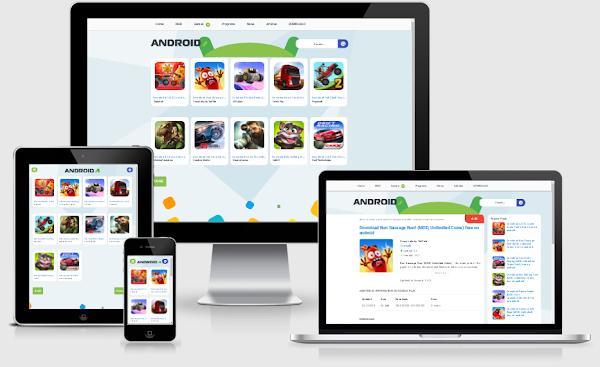 Apkmodstore Template Untuk Blog Download, Responsive, Fast Loading Plus Safelink