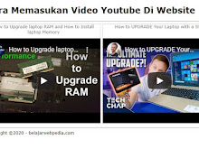 Cara Memasukan Video Youtube Di Website