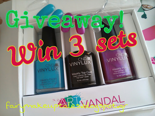 Win 4 Art Vandal Vinylux spring Sets!!