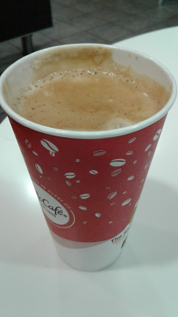 large Americano coffee
