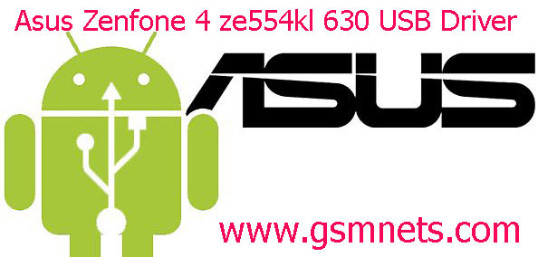 Asus Zenfone 4 ze554kl 630 USB Driver Download