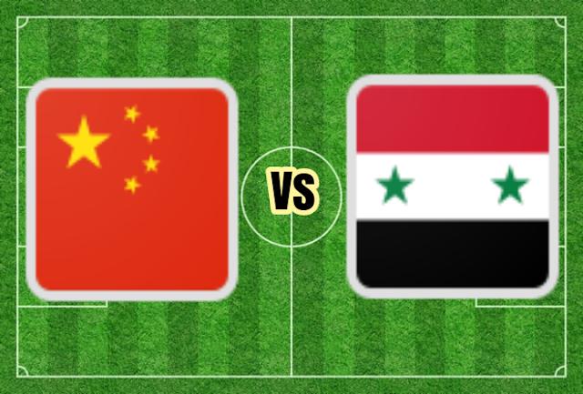 مشاهدة مباراة سوريا والصين بث مباشر بتاريخ 14-11-2019 تصفيات آسيا المؤهلة لكأس العالم 2022