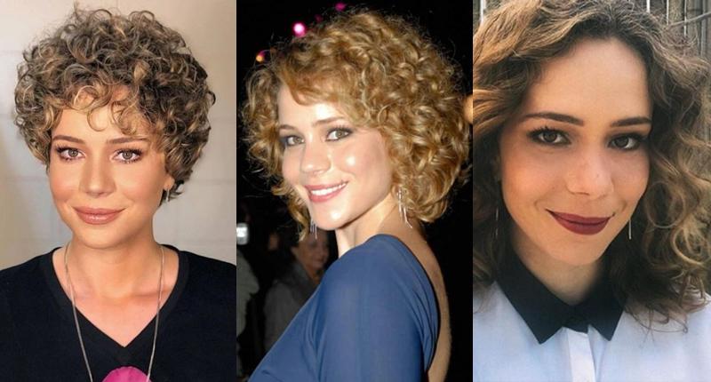 Leandra Leal cabelo natural