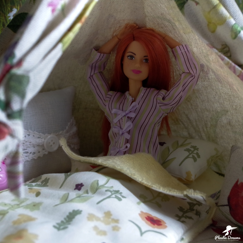 camping barbie