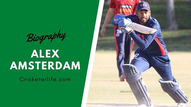 Alex Amsterdam cricketer Profile, age, height, stats, wife, etc.