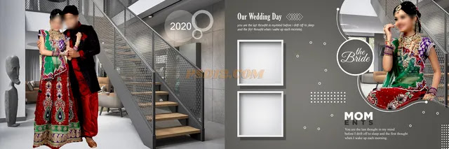 New 2020 12x36 Wedding Album DM Vol 18