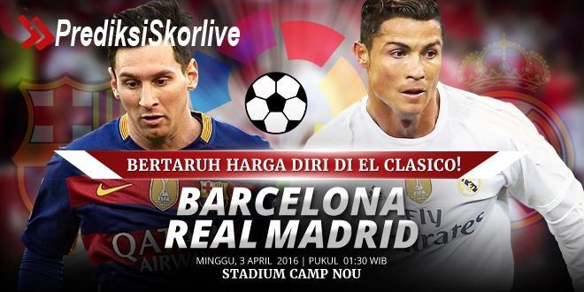 Prediksi Sepakbola Terbaik Liga Spanyol Barcelona Vs Real Madrid