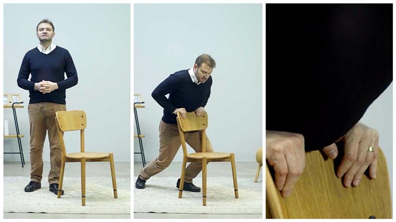 'Bir sandalye hayat kurtarabilir': Nefes aldıran 'Heimlich Manevrası'