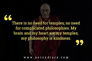 Dalai Lama philosophy quote