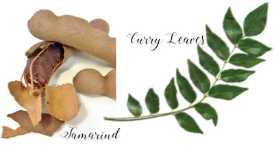 Tamarind Pods and Curry Leaves