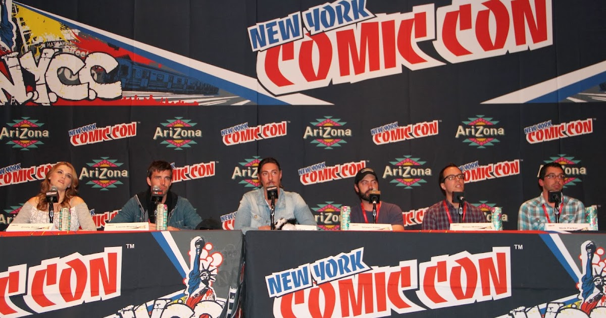 fashionably petite: Syfy's Haven Panel at New York Comic ...