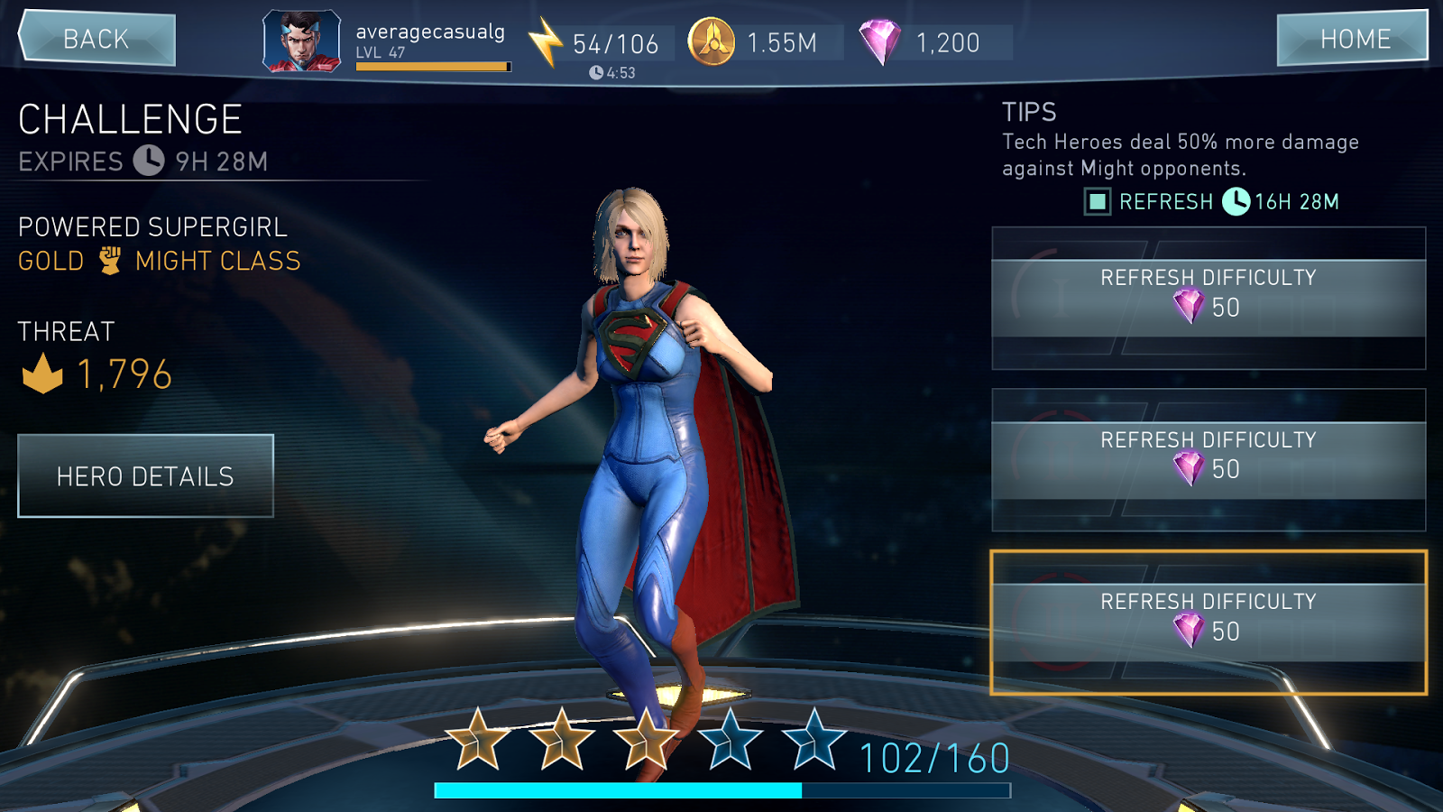 Gems, Promo and Hero, an injustice 2 mobile quick guide