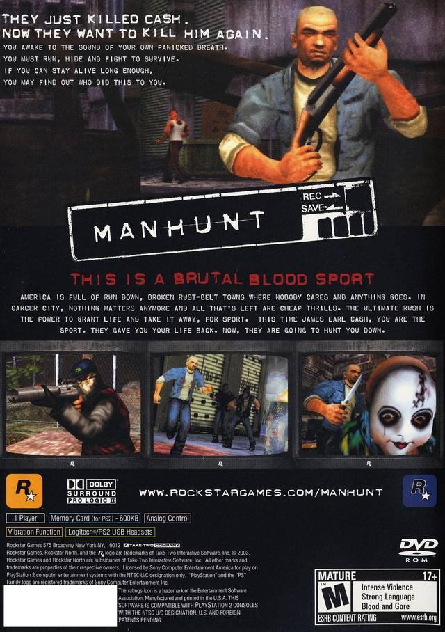 Manhunt By Rocks Star PC Game Full Setup Free Download