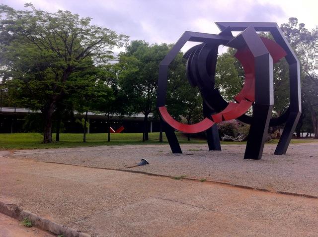 Jardim das Esculturas MAM Parque Ibirapuera
