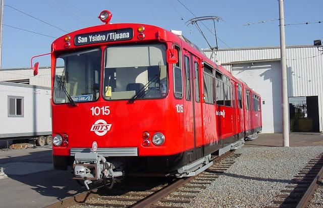 Trolley em Tijuana