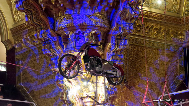 Blackpool Tower Circus stunts