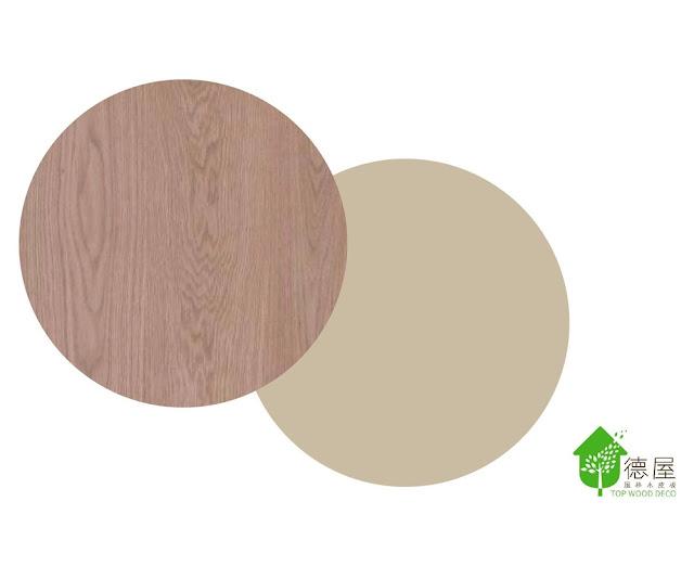 實木皮板,搭配,低明度,裝潢,