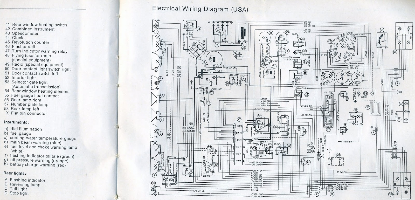 Wiring Diagram For Bmw Z4 : Bmw z factory wiring diagrams parts