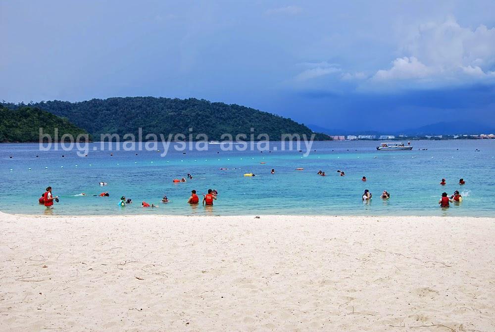 Pulau Sapi Beach Sabah