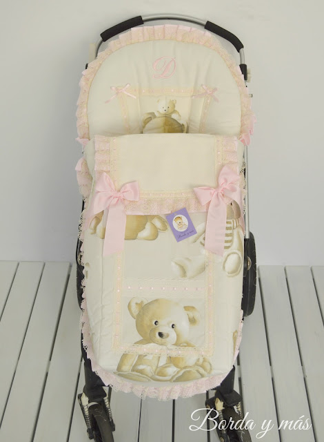 footmuff bugaboo teddy lace