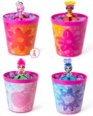 Куклы в цветочном горшке Awesome Bloss'ems Spin Master