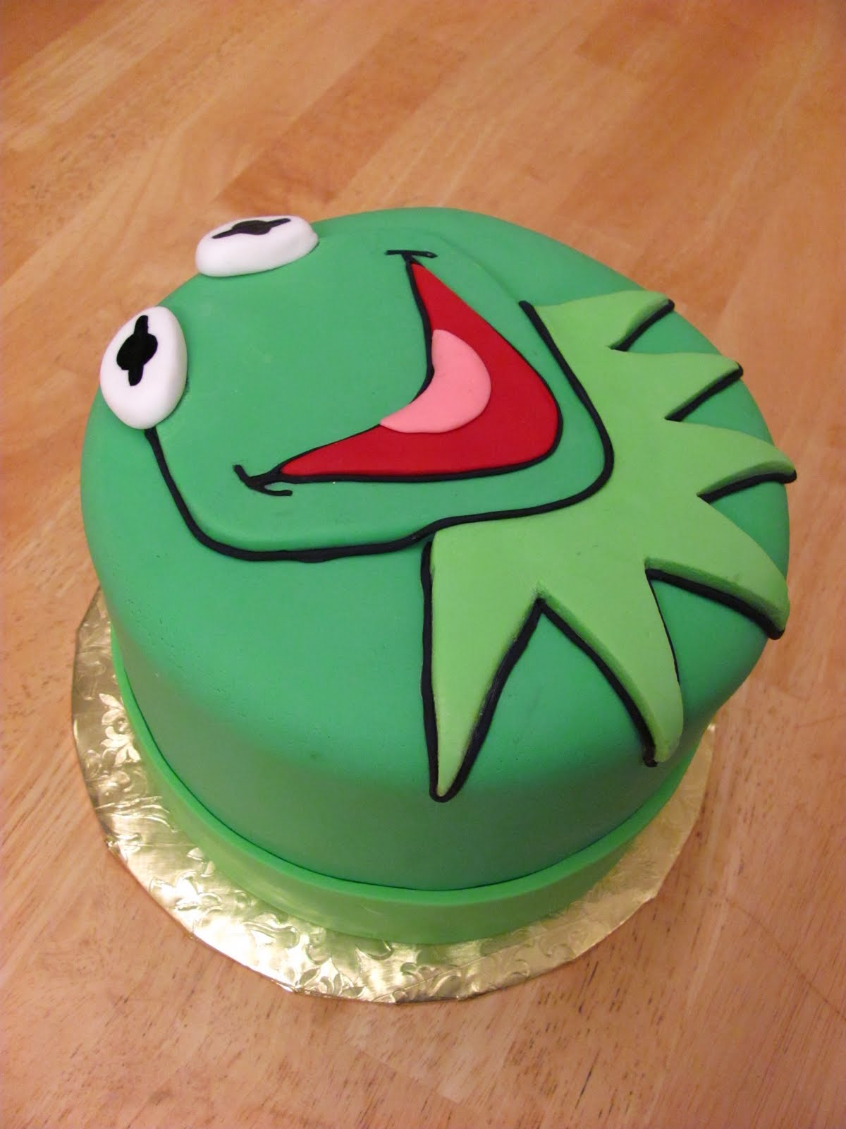 Cake Done Right Kermit Cake