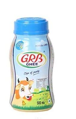 GRB GHEE Bottle - 500ml & MJR Healthy Mixed Dry FRUITS-200GM
