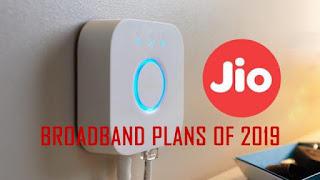 Latest Broadband Plans Of 2019