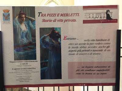 Information on the exhibition Tra pizzi e merletti.