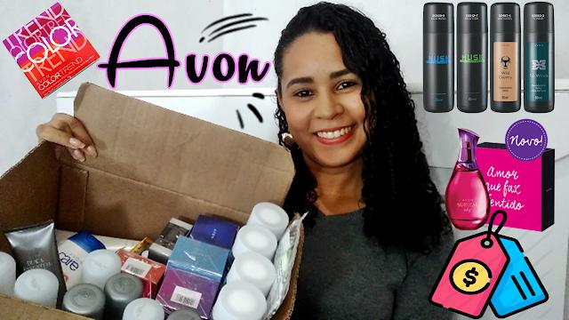 Compras AVON | Aquavibe, hidratante, desodorantes, make, colônias e muito mais | GASTEI TUDO