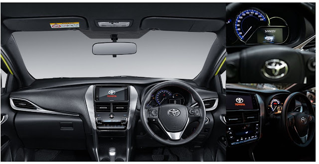 Fitur Toyota All New Yaris 2019-2020