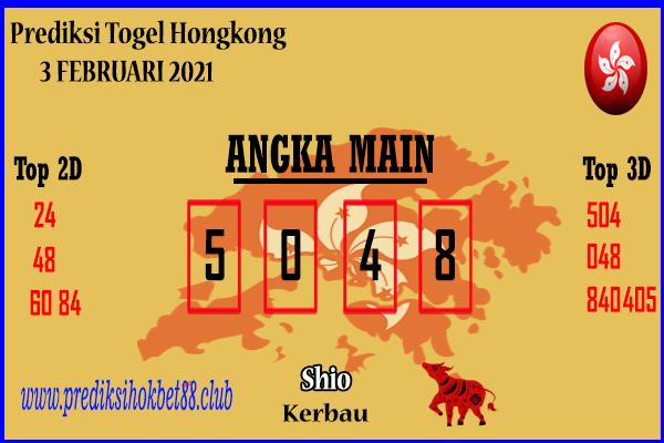Bocoran Hongkong 3 Februari 2021