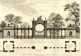 Design for entrance gate at Syon House  from The Works in architecture of Robert and James Adam 1773
