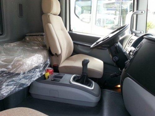 Nội thất xe 9 tấn Daewoo prima
