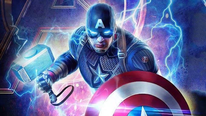Papel de Parede Vingadores Capitão América