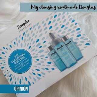 Set  My cleansing routine de Douglas