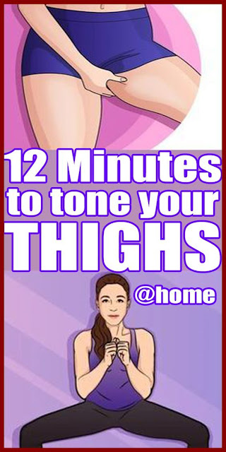 12-minute workout to tone thighs and burn fat at home