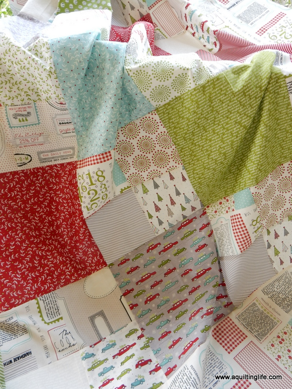 New Checkmate Layer Cake Quilt