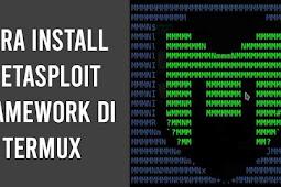Cara Install Metasploit Framework di Termux