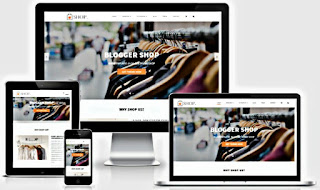 G Vusion Blogger Template Free Download |